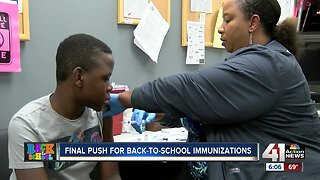 Health departments busy with back-to-school immunizations