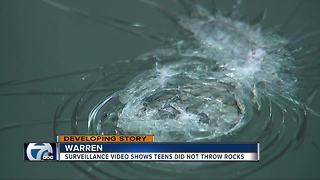Teens accused of throwing rocks at cars on I-696 cleared - Video