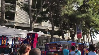 Barcelona's Camp Nou Open for Business With First Match Since Deadly Attack - Video