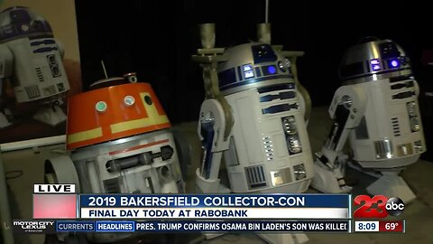 Bakersfield Collector-Con Day 2 starts Sunday at 11 a.m. at Rabobank Convention Center