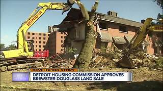 Detroit Housing Commission approves Brewster-Douglass land sale - Video