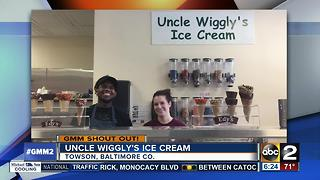 Good morning from Uncle Wiggly's Ice Cream in Towson - Video