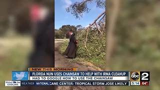 Nun in FL searched Google on how to use chainsaw