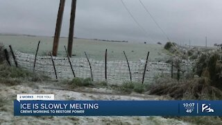Record-breaking number of power outages in western Oklahoma