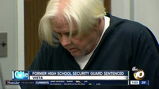Former high school security guard sentenced