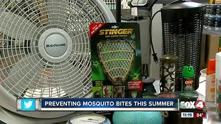 Retailers in SWFL promote products to prevent mosquito bites - Video