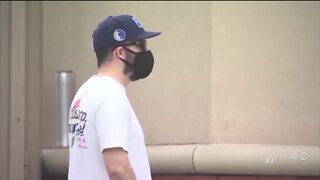 Officials are urging the public to wear masks