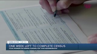There's one week left to complete your 2020 Census form. Here's what you need to know