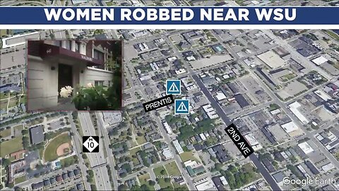 WSU on alert after assault and robbery of 2 women near campus