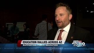 Education rally in Tucson - Video