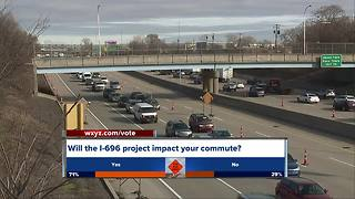 I-696 work about to get under way - Video