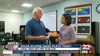 Kern Astronomical Society's tips on safe ways to watch the solar eclipse - Video