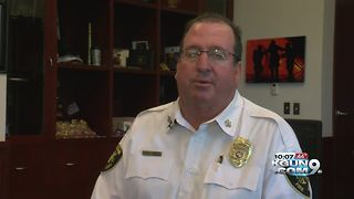 Tucson Fire Department chief retiring after nearly 30 years of service - Video