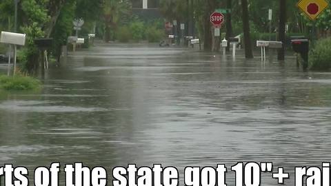Tropical Storm Colin caused widespread flooding