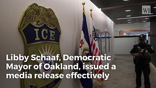 California Mayor Defies ICE, Warns Illegals Ahead Of Sting Operation - Video