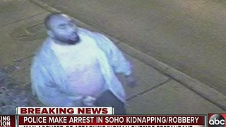 Police make arrest in SoHo kidnapping/robbery - Video