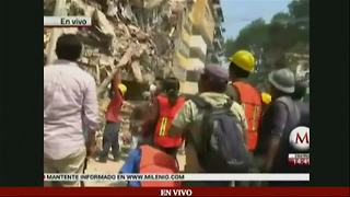 Mexico City rocked by massive earthquake - Video