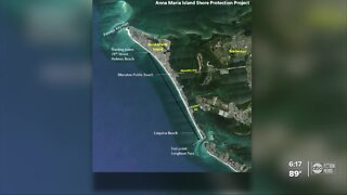 Major sand project on Anna Maria Island