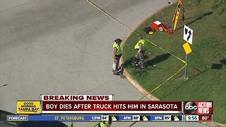 Student hit, killed while riding bike to school in Sarasota