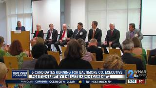 6 candidates vying to be next Baltimore County Executive - Video