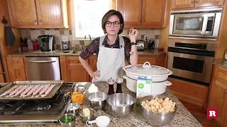 Baked potato soup in a Crockpot with Elissa the Mom | Rare Life - Video