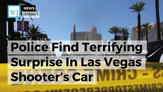 Police Find Terrifying Surprise In Las Vegas Shooter's Car