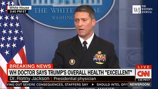 Obama-Appointed Presidential Physician Reveals Why He Gave Trump A Cognitive Exam - Video