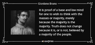Giordano Bruno: Mad lad and Martyr for freedom of speech
