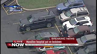 Gunman kills self after shooting doctor in parking lot of Affinity Medical Center in Massillon - Video