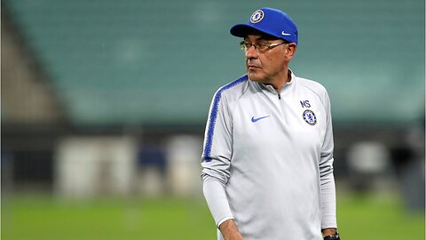 Chelsea FC's manager chucks a hissy fit during a training session