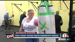 Rock Steady boxing fights Parkinson's Disease - Video