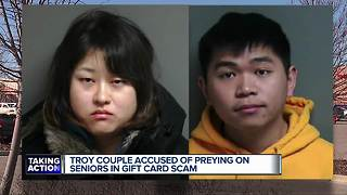 2 metro Detroit residents arrested in phone scams that targeted the elderly - Video