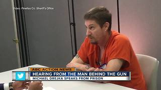Michael Drejka Speaks from Prison