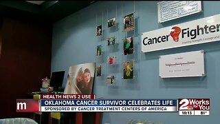 Oklahoma cancer survivor celebrates life