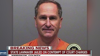 State lawmaker jailed on contempt of court charges
