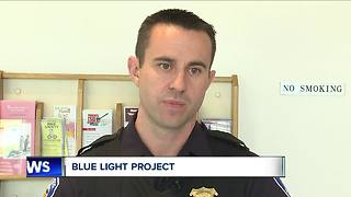 Blue Light Project honors fallen heroes