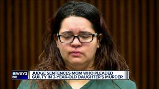 Wayne County mother charged with murder of 3-year-old daughter