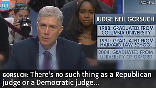 Judge Gorsuch Committee Vote Delayed By Senate - Video