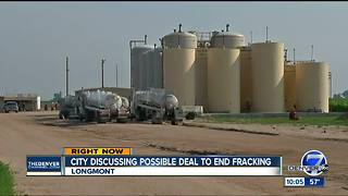 Talks over oil and gas companies leaving Longmont tabled - Video