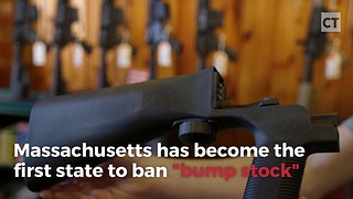 First State Bans Bump Stock - Video