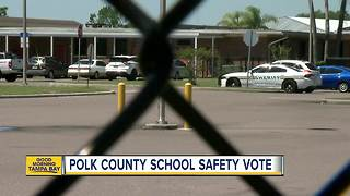 Polk schools may vote on using armed guards - Video