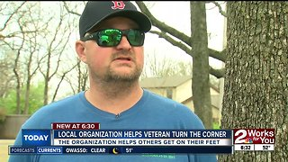 Local organization helps veteran turn the corner