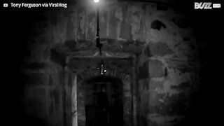 Camera records scary apparition of alleged ghost