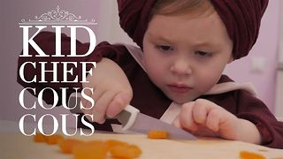 Kid Chef: How (not) to make Moroccan couscous - Video