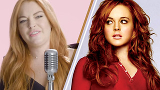 FETCH! Lindsay Lohan Recites Her Favorite 'Mean Girls' Lines - Video