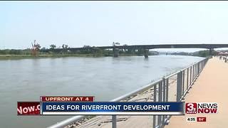 Riverfront development on the minds of Omaha-Council Bluffs leaders 4pm - Video