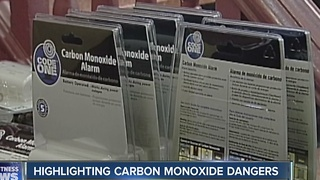 Highlighting carbon monoxide dangers - Video