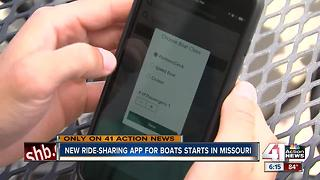 Uber-like business for boats launches in Missouri - Video