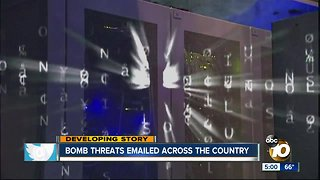 San Diego authorities investigate bomb threats made to area businesses