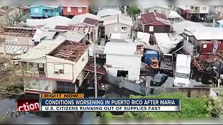 Local father drinks rain water in Puerto Rico to survive after Hurricane Maria